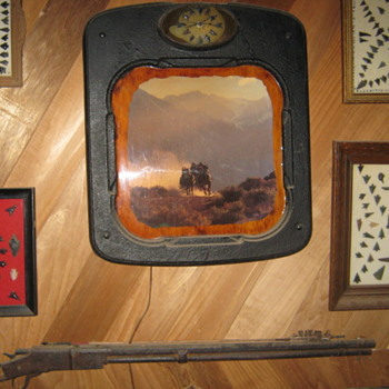 ARTIFACTS & OLD STOVE PIECES - Native American