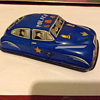 Vintage Tin Police Car...How old is this.  Nice shape.