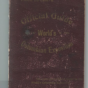 Official Guide to the World's Columbian Exposition 1893 - Advertising