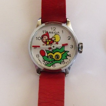 Rega little Red Riding Hood & Big Bad Wolf Wristwatch