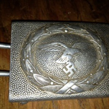 Luftwaffe WWII belt buckle