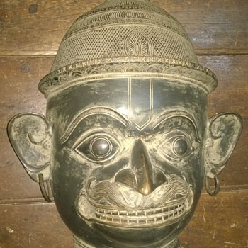 Bronze Mask - Asian
