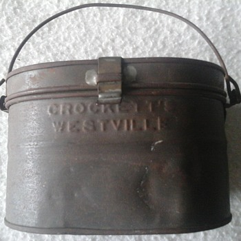 My great uncle,s mining lunch pail.