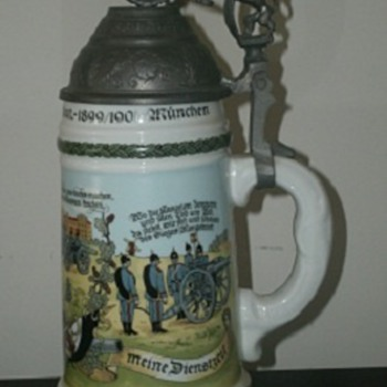 3rd Field Artillery Regiment 1st Battalion 1899-1901 Munich, Germany - Breweriana