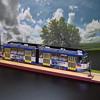 Tatra KT4D scale model tram