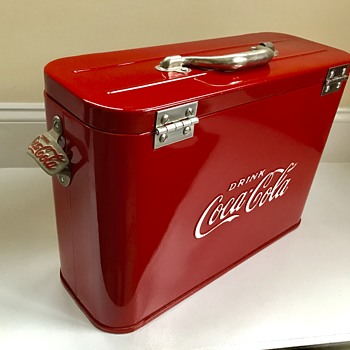 Coca Cola airline cooler.  - Coca-Cola