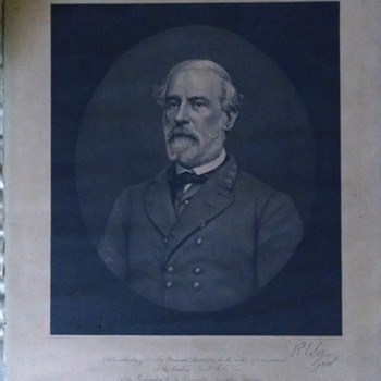 Robert e. Lee portrait - Military and Wartime