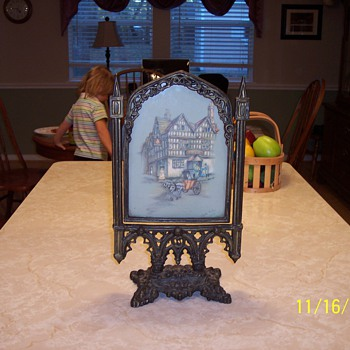 antique picture frame - Art Nouveau