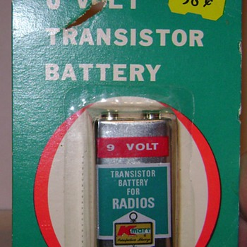 9 Volt K-Mart Battery - Advertising