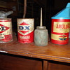 cans found in basement of building in bought