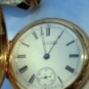 1878 , 18kt Gold Waltham Pocket Watch - Pocket Watches