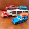 Matchbox Moko auto carrier and cars