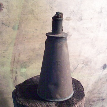 Pennsylvania RR oil torch lamp - Railroadiana