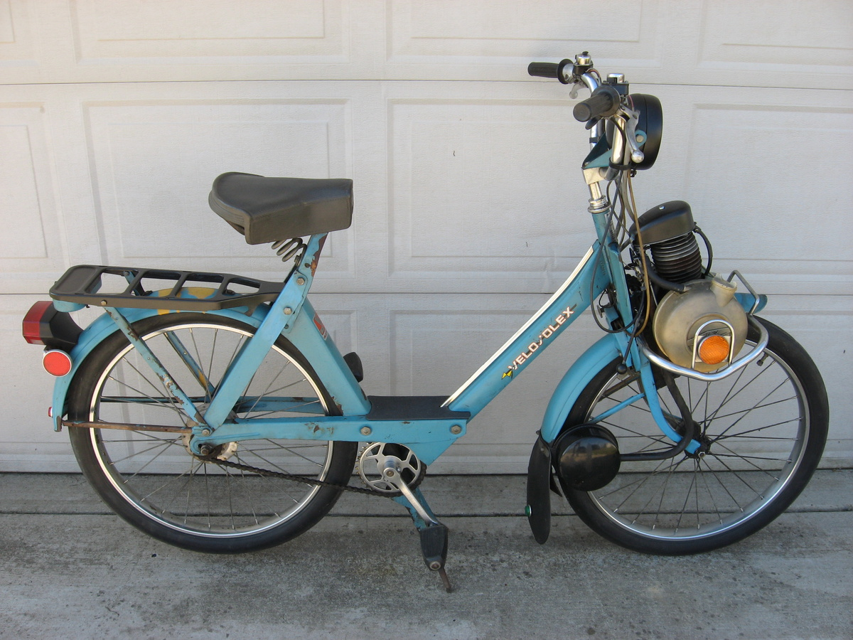 1977 Velosolex Moped Bicycle Made In France Solex