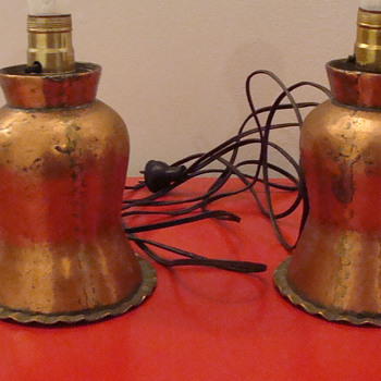 Copper Table Lamps - Lamps