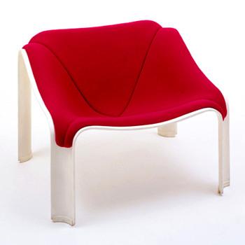 F300 chair, Pierre Paulin (1964) - Furniture