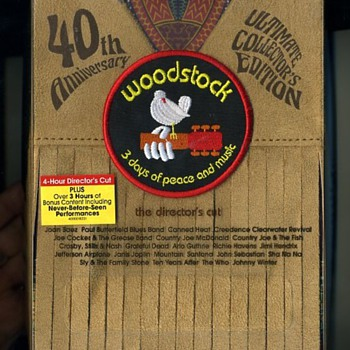 2008 Numbered Edition 40th Anniversary of Woodstock, DVD  - Music Memorabilia