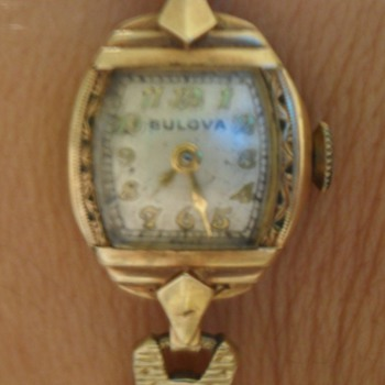My Ladies Bulova Watch