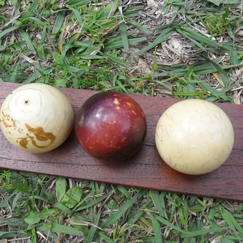 Ivory billiard balls - Games