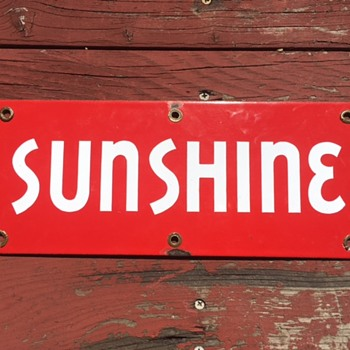 Red Sunshine Beer Sign