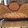 Victorian mahogany rose sofa