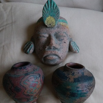 african/mexican/peruvian pottery