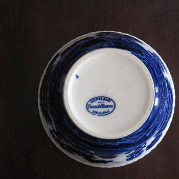 Spode Tower Blue Cranberry? - China and Dinnerware