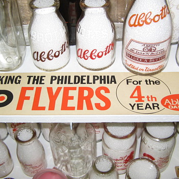 Abbotts Dairy , Abbott's Dairy , Philadelphia sports , Flyers - Hockey
