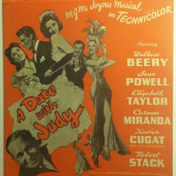 Jane Powell-Related Sheet Music - Paper