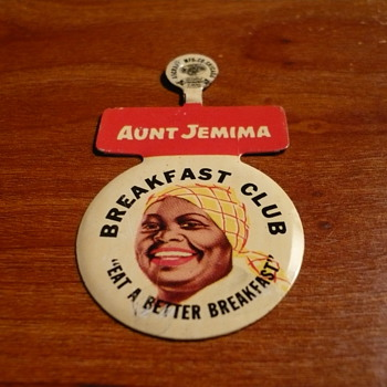 Aunt Jemima Pin - Advertising