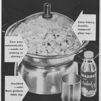 1950 - Knapp Monarch Corn Popper Advertisement