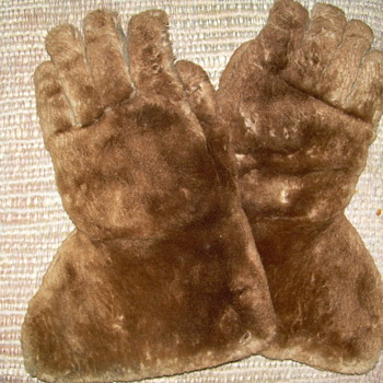 Fur Gloves Made By Standard Glove Works