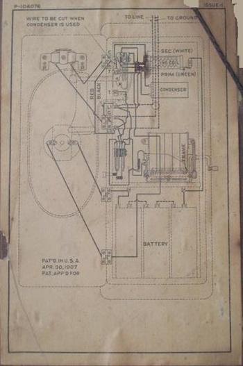 western electric wiring diagram dodge western plow wiring diagram need western electric wiring diagram | collectors weekly