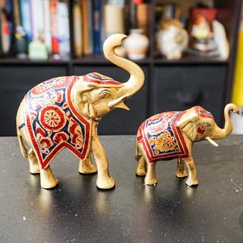 Brass Elephants