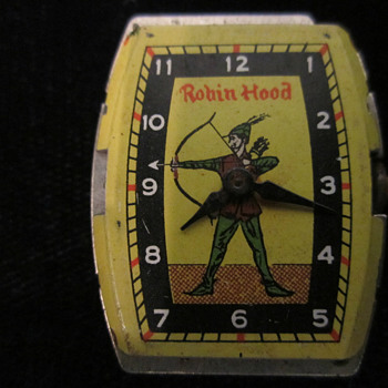 "Ingraham/ Bradley ""Robin Hood"" Watch - Wristwatches"
