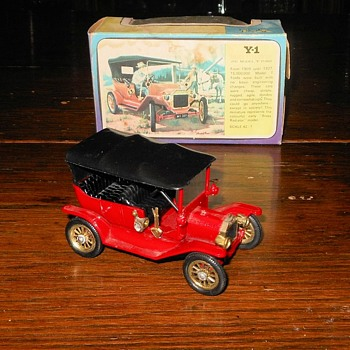 Mighty Model T Matchbox Monday Y-1 1911 Model T