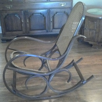 What is it? I thought it was a Thonet style bentwood.