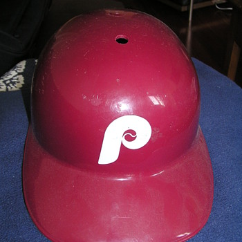 Old Phillies Batting Helmet