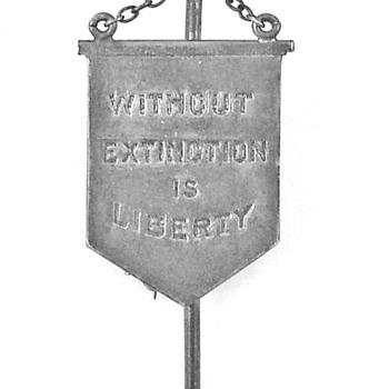 Suffrage -- Silent Sentinel pin