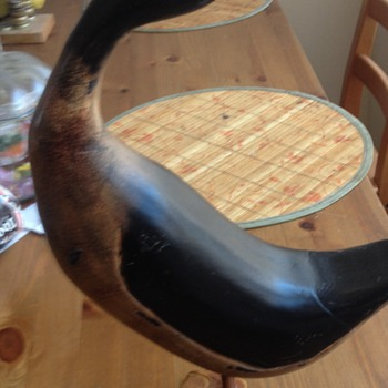 Vintage Standing Duck Decoy Need Help?? - Sporting Goods