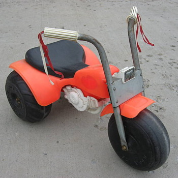 1970s toy 3 wheeler Honda ATC ride-on.