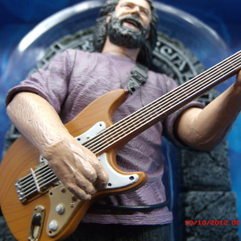 From my Grateful Dead Collection my Jerry Garcia Action Figure made by McFarlane Toys