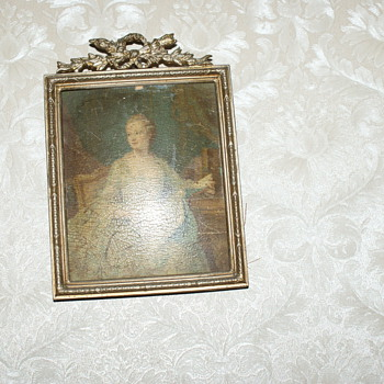 A suvenier from the Luvre  - Victorian Era