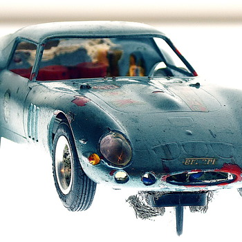 Strombecker Beaten Up - Ferrari 250 GT 1/32 Model Racer