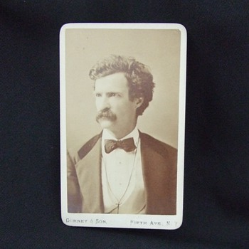 Early Mark Twain CDV