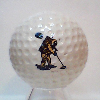 Golf Balls on the Moon!!