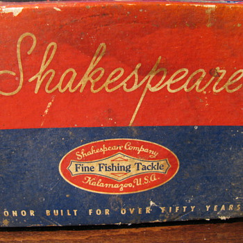 1944 Shakespeare fishing reel in original box