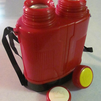 DOUBLE THERMOS (inside is glass) - Bottles