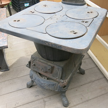 My new cast iron stove!