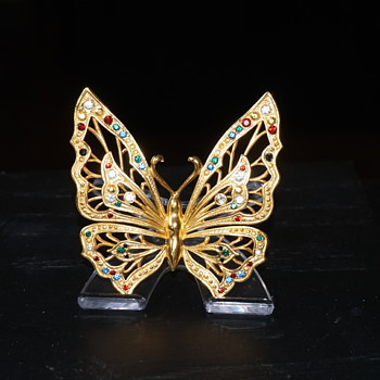 The Jeweled Butterfly by House of Faberge - Animals